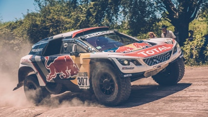 The Peugeot 3008 DKR at the Dakar 2017 – On the road to victory