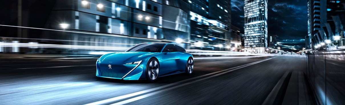 Peugeot Brand and Technology - Instinct Concept