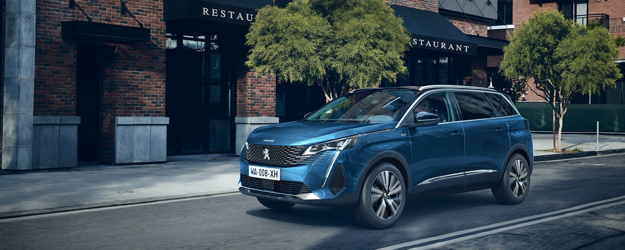 New large Peugeot 5008 SUV up to 7 seats