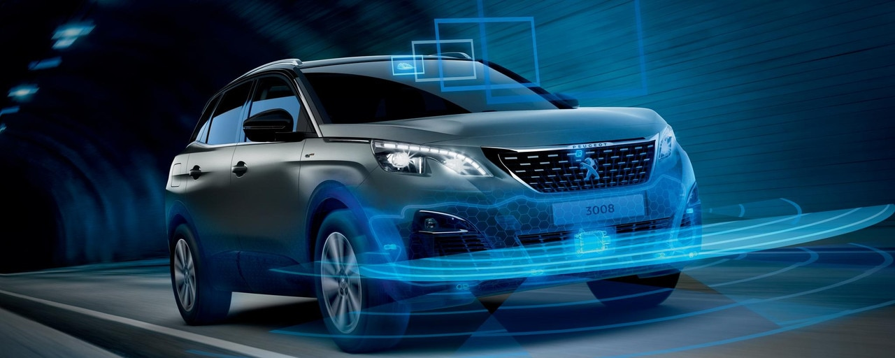 PEUGEOT 3008 SUV: Safety and driving aids
