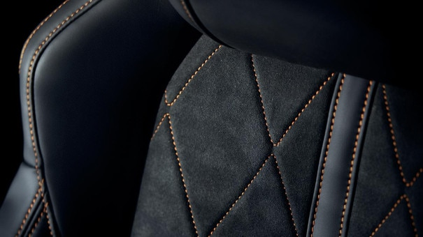 PEUGEOT 3008 SUV: Leather detail
