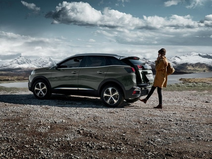PEUGEOT 3008 SUV: Hands-free tailgate