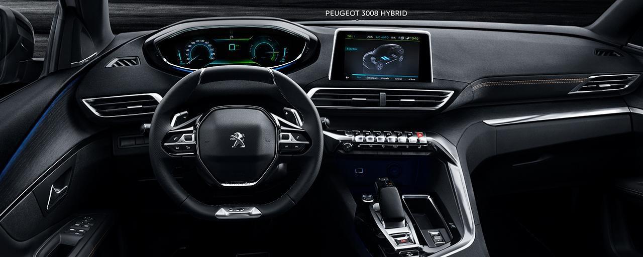 PEUGEOT 3008 SUV HYBRID - PEUGEOT i-Cockpit®