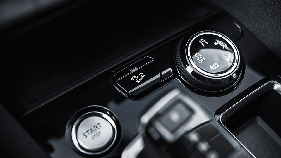 New SUV PEUGEOT 5008: Advanced Grip Control Dial